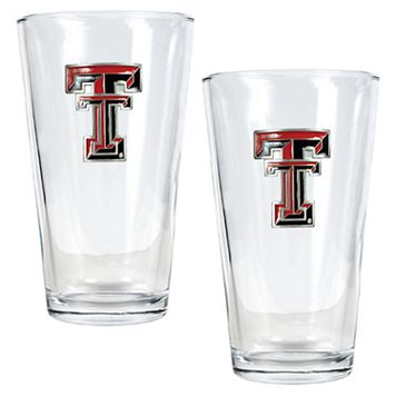 Texas Tech University Red Raiders 2-pc. Pint Ale Glass Set