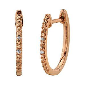 Diamond Allure Diamond Accent Hoop Earrings