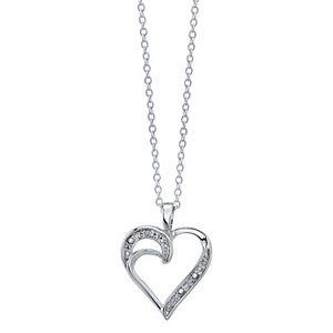 Diamond Allure Diamond Accent Heart Pendant Necklace