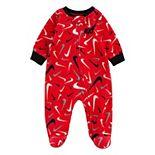 Baby Boy Nike Microfleece Logo Sleep & Play