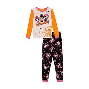 Girls 4-10 L.O.L Surprise! Halloween Top & Bottoms Pajama Set