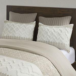 INK + IVY Mila Cotton Printed Comforter Set