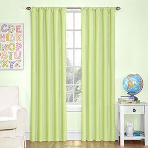 Eclipse Kids Microfiber Blackout Window Curtain