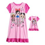 Girls 6-10 L.O.L. Surprise! Nightgown & Doll Nightgown