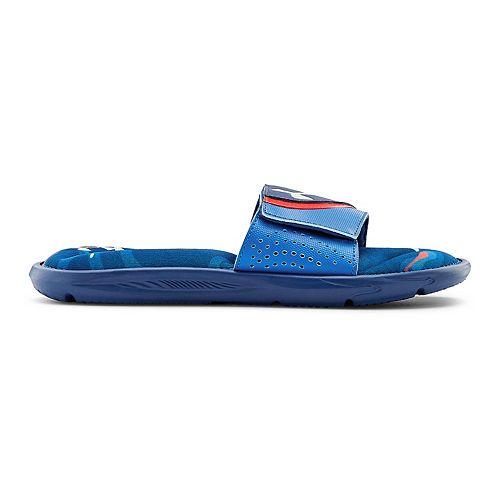 Under Armour Ignite VI Morph DPM Grade School Boys' Slide Sandals