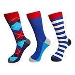 Men's HS by Happy Socks Patterned Fashion Crew Socks