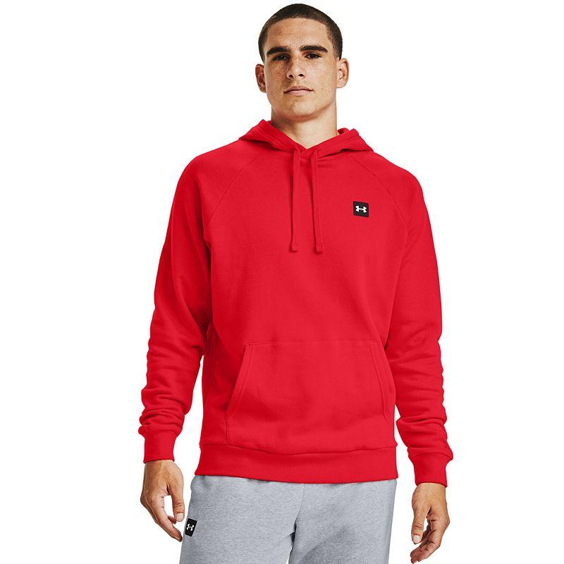 Men's Under Armour Fleece Hoodie. Size: XXL. Red