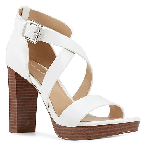 Nine West Deanne Women's Strappy Platform Sandals