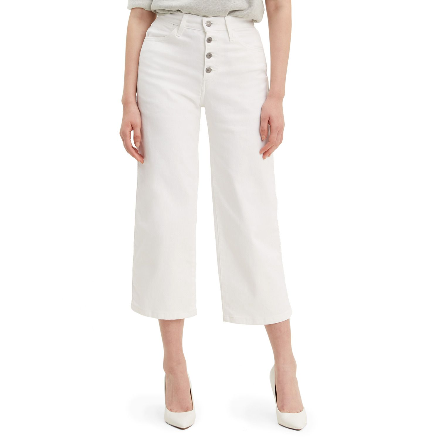 Women's Levi's® Mile High Button-Fly Wide Leg Jeans