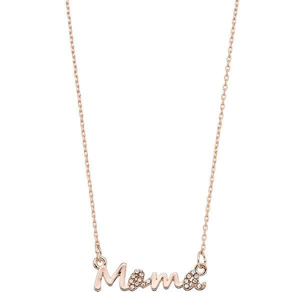 """LC Lauren Conrad """"Mama"""" Pendant Necklace"""
