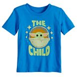 Disney?s The Mandalorian Baby Boy The Child aka Baby Yoda Graphic Tee by Jumping Beans®