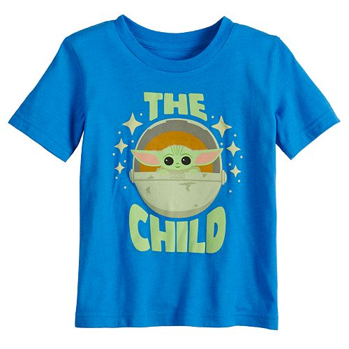 Disney's The Mandalorian Baby Boy The Child aka Baby Yoda Graphic Tee by Jumping Beans®