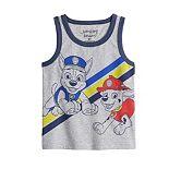 Toddler Boy Jumping Beans® Paw Patrol Marshall & Chase Tank Top