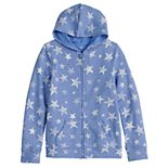 Girls 4-20 SO® Patriotic French Terry Hoodie