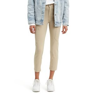 Women's Levi's® 724 Utility Straight-Leg Crop Pants
