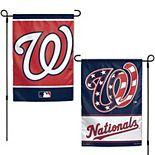 "WinCraft Washington Nationals 12"" x 18"" Double-Sided Garden Flag"
