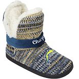 Women's Los Angeles Chargers Wordmark Peak Boots