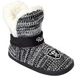 Women's Oakland Raiders Wordmark Peak Boots