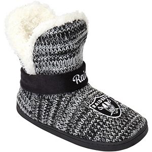 Women's Oakland Raiders Wordmark Peak Boots