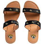 Women's Jacksonville Jaguars Double-Strap Sandals