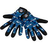 Men's Seattle Seahawks Heavy Duty Camouflage Work Gloves