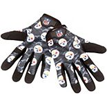 Men's Pittsburgh Steelers Heavy Duty Camouflage Work Gloves