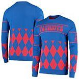 Men's Royal New England Patriots Retro Sweater
