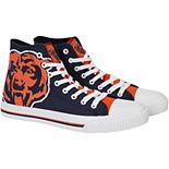 Men's Chicago Bears Big Logo High Top Shoes