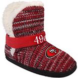 Women's San Francisco 49ers Wordmark Peak Boots