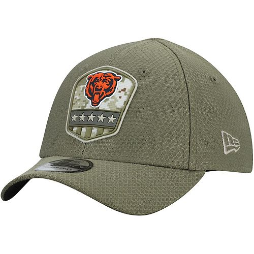 New Era Oakland Raiders 39thirty Stretch Cap On Field 2019 Salute to Service