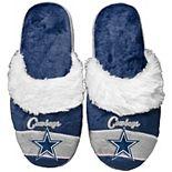 Women's Dallas Cowboys Stripe Logo Slide Slippers