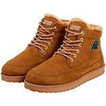 Men's Carolina Panthers High Top Moccasin Shoes