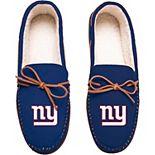 Men's New York Giants Big Logo Moccasin Slippers