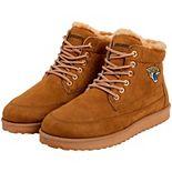Men's Jacksonville Jaguars High Top Moccasin Shoes