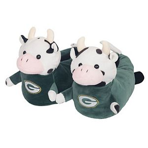 Youth Green Bay Packers 3D Mascot Slippers