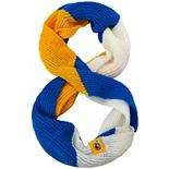 Women's Los Angeles Rams Color Block Knit Infinity Scarf