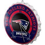 New England Patriots Bottle Cap Wall Clock