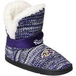 Women's Baltimore Ravens Wordmark Peak Boots