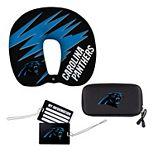 The Northwest Company Carolina Panthers Four-Piece Travel Set