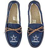 Men's Dallas Cowboys Big Logo Moccasin Slippers