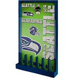 Seattle Seahawks Wood Bottle Opener Sign Game