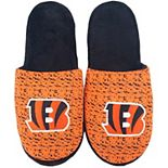 Men's Cincinnati Bengals Knit Slide Slippers