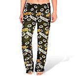 Women's Forever Collectibles Green Green Bay Packers Repeat Print Pants