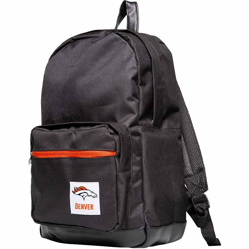 Black Denver Broncos Collection Backpack