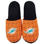 Men's Miami Dolphins Knit Slide Slippers