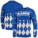 Men's Royal Los Angeles Rams Retro Sweater