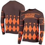 Men's Brown Cleveland Browns Retro Sweater
