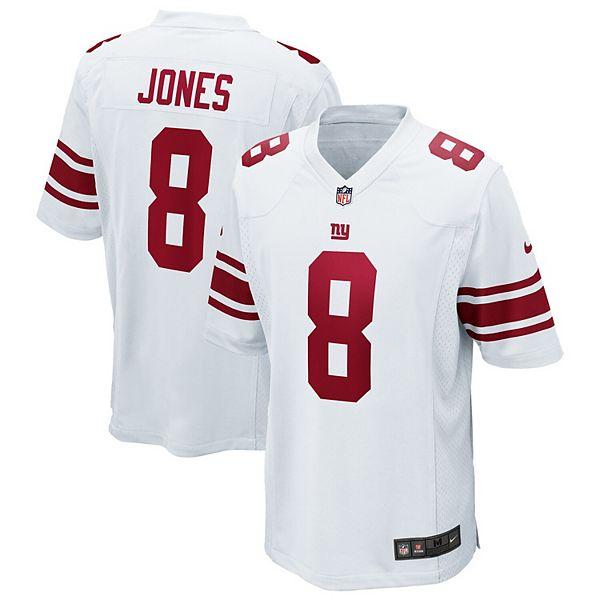 Men's Nike Daniel Jones White New York Giants Game Jersey