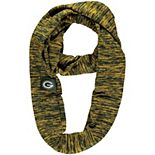 Green Green Bay Packers Colorblend Infinity Scarf