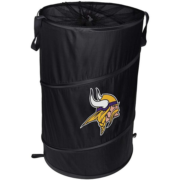 Minnesota Vikings Cylinder Pop Up Hamper